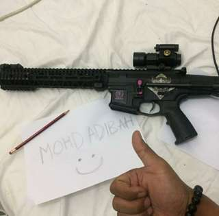 Airsoft Rifle used item for sale untgen