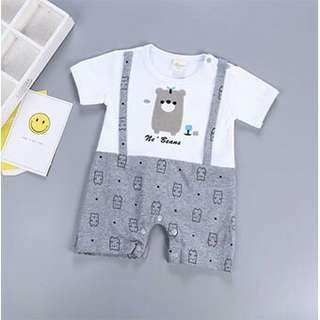 BN FREE MAIL Cute Bear Baby Romper