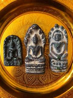Stone carved amulets
