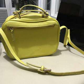 ZARA Trafaluc Sling bag Yellow
