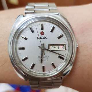 🚚 TITONI 機械古董錶