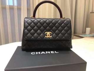 Chanel Coco Handle 28cm 蜥蜴手柄