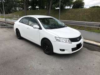 Toyota Allion For Rental!! Grab / Long Term Personal Usage Welcome!