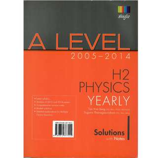 A Level 2005-2014 H2 Physics Yearly