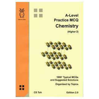 Step-by-Step A-Level Practice MCQ Chemistry (Higher 2)