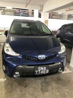 Toyota Prius Alpha Hybrid 1.8L BRAND NEW