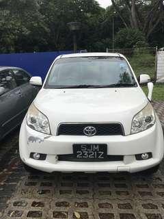Toyota Rush 1.5 Auto X