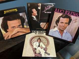 RARE Julio Iglesias Record Collection