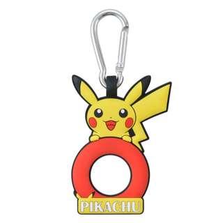 [PO] Pokemon Center Exclusive PET Bottle Holder with Carabiner Pikachu