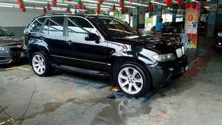 BMW X5 ,Engine 4.4litre,Full Bodykit.