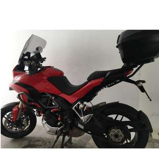 DUCATI MULTISTRADA MTS1200 - Brand-new and Showroom condition / registered Aug 2014