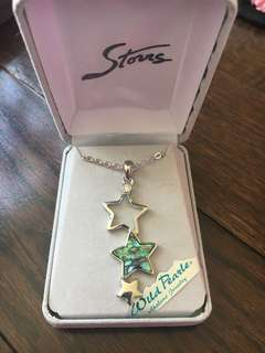 Women's star necklace