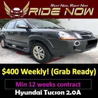 Hyundai Tucson 2.0A Long Term Car Rental