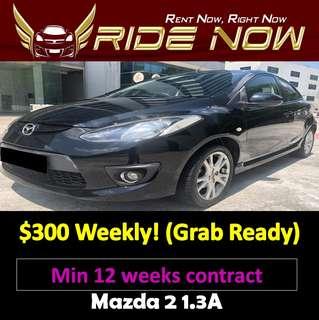 Mazda 2 1.3A Long Term Car Rental