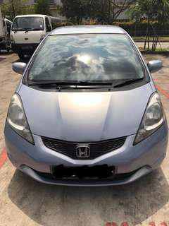 Car Rental, Honda Jazz 1.3L with paddle shifter. Daily, Weekends, Weekly & Monthly.