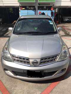 Nissan Latio 1.5L $330 weekly. Grabcar | Uber.