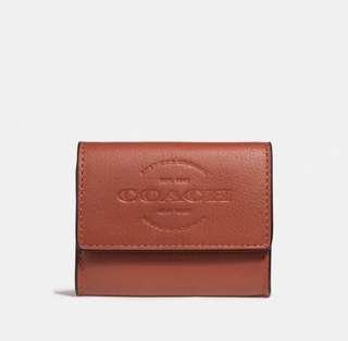 Coach 男裝銀包 散紙包men coin bag wallet