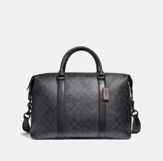 Coach 男裝旅行袋 大袋 voyage bag travel