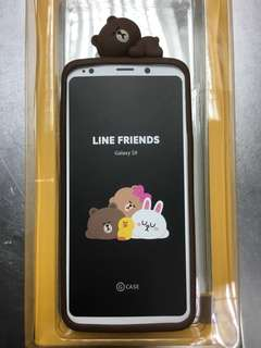 Samsung s9 Line friends 矽膠保護套