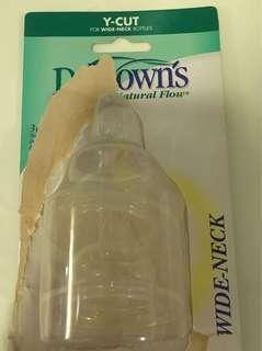 Dr Brown natural flow teats