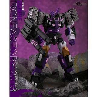 [Preorder] Iron Factory, IF-EX31 Dubhe (Tarn), combiner Spirits of the D.E.C. Transformers Legends