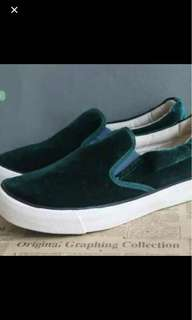 Green fine hair shoes (no bargaining)