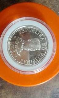 Emilio aguinaldo and masaganang ani commemorative silver coin