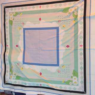 Ameera zaini square scarf