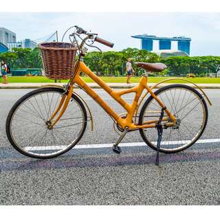 Bamboo and Wooden Bikes for Rent