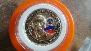 Presidential Rodrigo Duterte inaugural commemorative medal