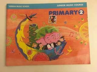 Yamaha Junior Music Course (Primary 2) - JMC