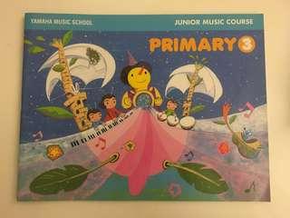 Yamaha Junior Music Course (Primary 3) - JMC