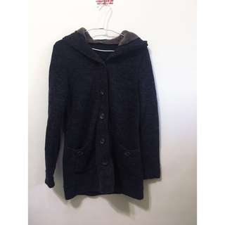 🚚 長版連帽口袋大衣/外套