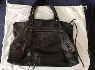 Authentic balenciaga city bag black