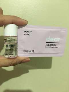 Banila Co Dear Hydration Toner + Boosting Cream