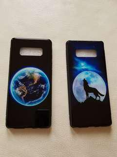 Mobile phone cases and ring holder