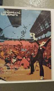 Chemical brothers autograph