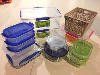 Assorted Containers