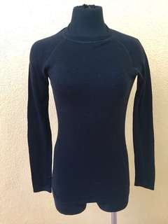 M&S Black Thermal Sweater