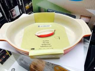 全新 Le Creuset 24cm Oval Dish
