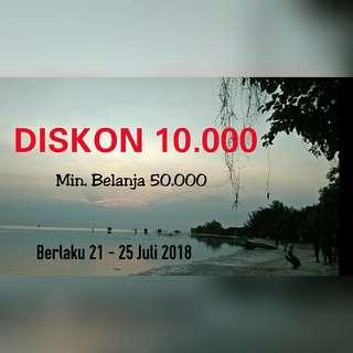 DISKON 10.000 !!