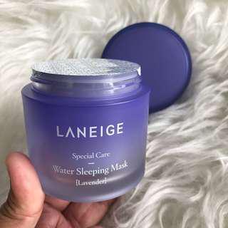 Laneige Lavender Water Sleeping Mask Sealed 70mL