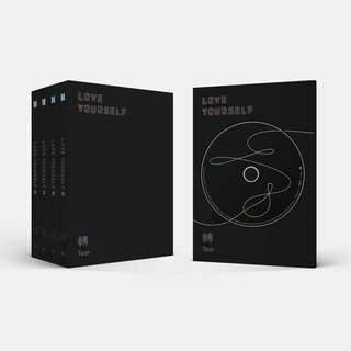 Readystock Unsealed BTS Love Yourself Tear