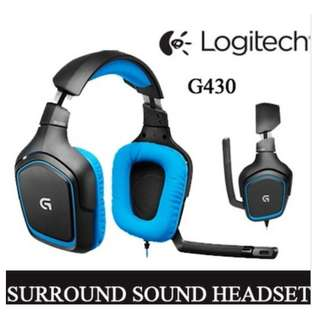 Logitech G430 Digital Gaming Headset 981-000538 Singapore stock