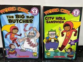 Scholastic Brand Power Puff Word Girl English Education Story Books Children Kids