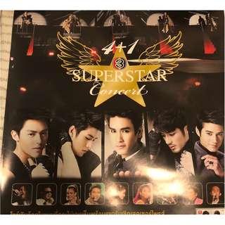 Selling Thai superstar concert poster..