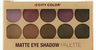 BRANDNEW SEALED CITY COLOR EYESHADOW