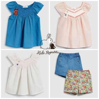 KIDS/ BABY - Blouse/ shorts