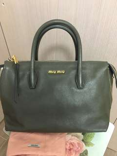 ❤️ Miu Miu Bag Calfskin Multi-way Handbag 手袋