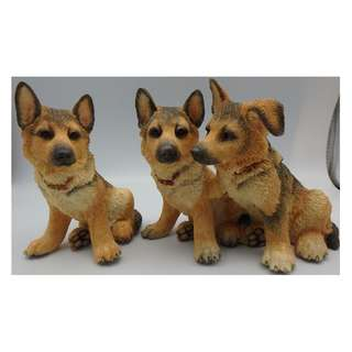 "COUNTRY ARTISTS DOG Figure 03397 ""Alsatian Puyppy Trio"""